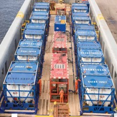 Offshore ISO containers