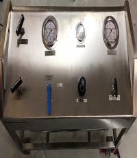 Hệ thống thu hồi - Chiết nạp He, Ar, N2O