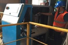Servicing High Pressure Compressor